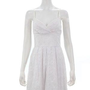 LILLY PULITZER EYELET 'BILLIE' DRESS SIZE 4 NWT